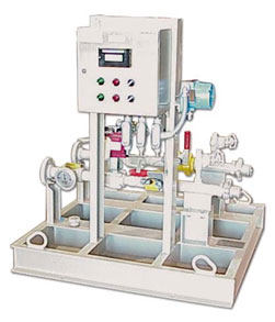 """Skid-Mounted Modular Process System Package: Ammonia Unloading Station, engineered-to-order and ready to """"plug in."""""""