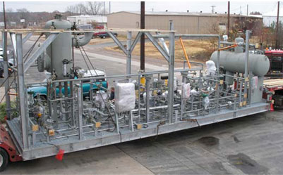 Vapor Recovery System Package, Skid-mounted and Ready to Plug In