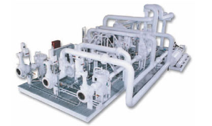 """Skid-Mounted Modular Process System Package: Fluid Metering Package useful for custody transfer metering, engineered-to-order and ready to """"plug in."""""""