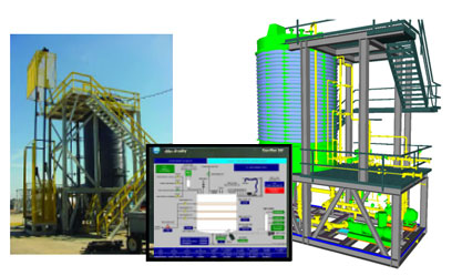 """Skid-Mounted Modular Process System Package: Lube Oil Blending Package engineered-to-order and ready to """"plug in."""""""