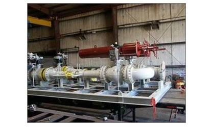 Natural Gas Pressure Reducing Station Package. Can be modified as Compressed Natural Gas (CNG) Decanter System.