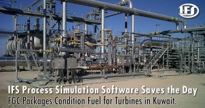 High Pressure Fuel Gas Conditioning Package for Kuwait
