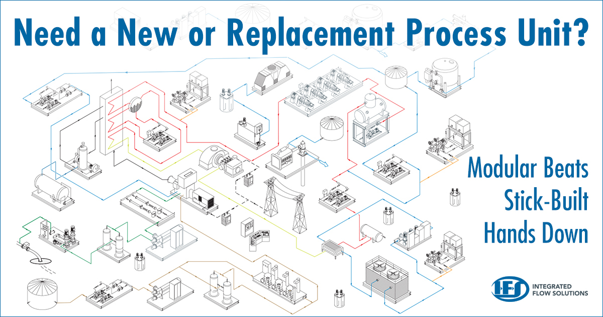 Modular Vs Stick Built Industrial Process System Package