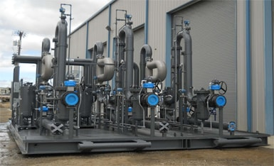 Midstream Oil And Gas Modular Process Systems For