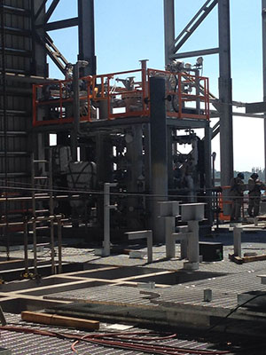 IFS Fuel Gas Conditioning Package installed on McDermott Platform