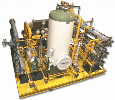 natural gas conditioning skid package