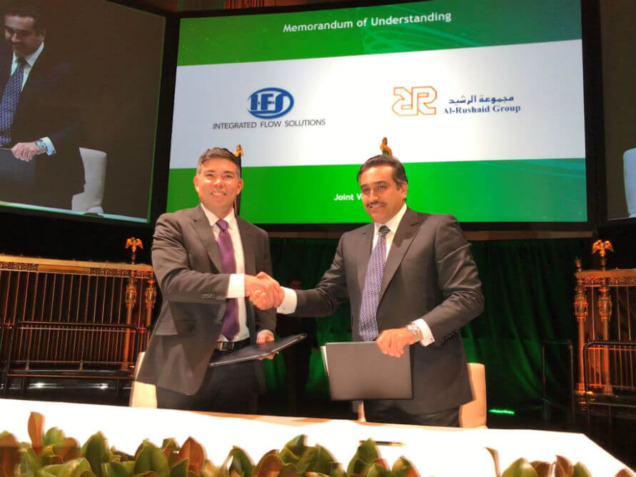 Integrated Flow Solutions and Al-Rashaid Joint Venture