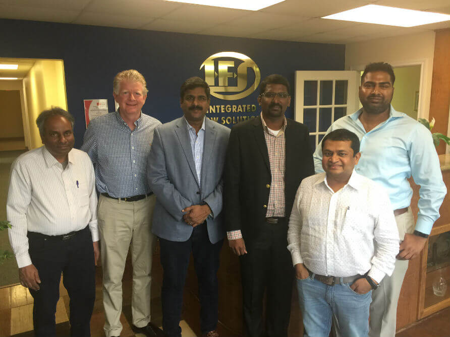 IFS with Varicon Pumps & Systems PVT. LTD and Peritum International