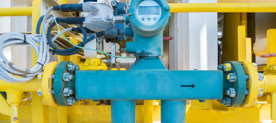 gas flow meter types