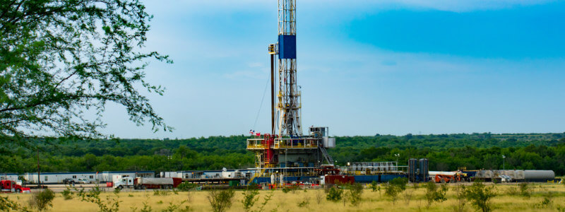 natural gas hydraulic fracturing well