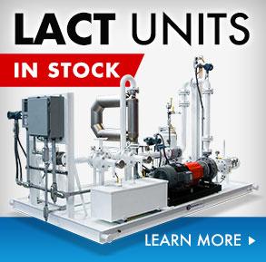 lease automatic custody transfer LACT unit skid
