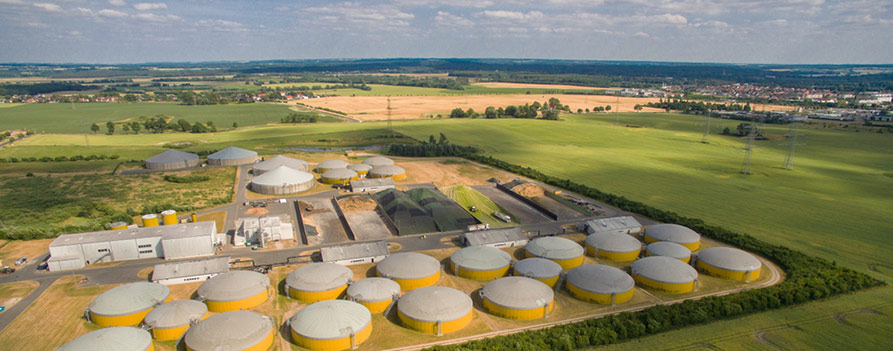 what is biogas fuel production
